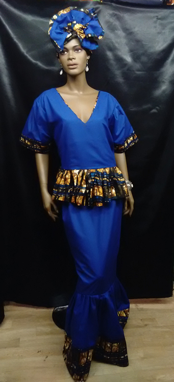 African-Blue-Two-Toned-Prin
