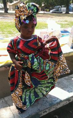 African-Children-Print-Dres