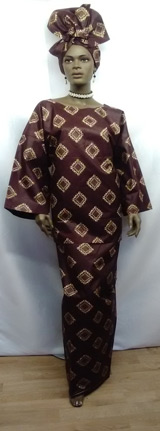 African-Cream-Brown-3pc-Set