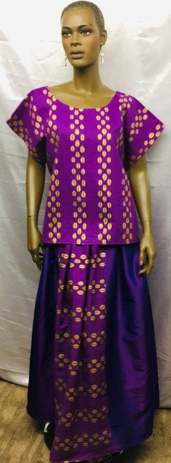 African-Full-Kari-Skirt-Set