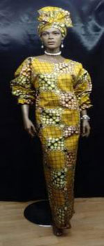 African-Gold-Scallop-Sleeve
