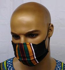 African-Kente-Face-Mask-Nos