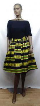 African-Kente-Short-Skirt