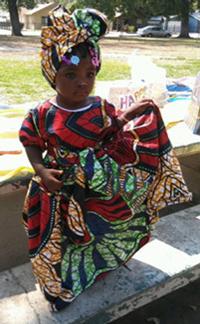 African-Kids-Print-Dress