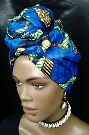 African-Knotted-Front-Head-