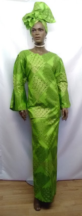 African-Lime-Green-3pc-Set