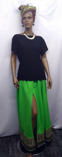 African-Lime-Green-Dashiki-