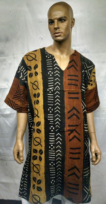 African-Mud-Cloth-Dashiki-S