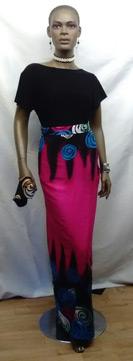 African-Multi-Color-Fuschia