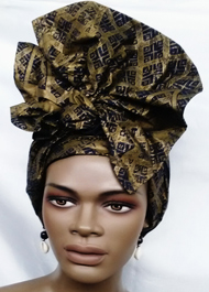 African-Navy-Gold-Head-Wrap