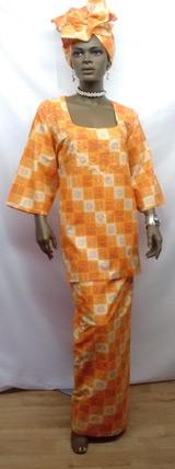 African-Orange-Print-3pc-Se