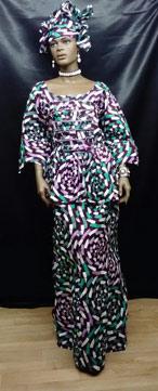 African-Print-Lavender-Skir