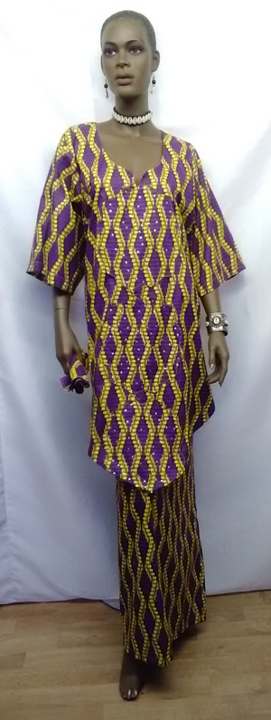 African-Purple-Yellow-V-top