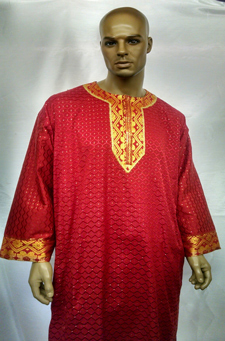 African-Red-George-Shirt
