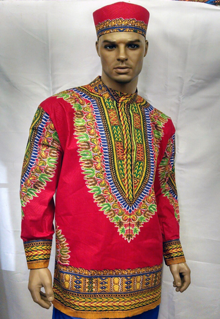 African-Red-Long-Sleeve-Ner
