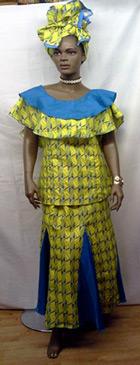 African-Round-Collar-Blue-Y