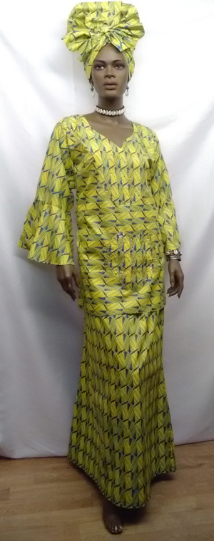 African-Yellow-Blue-Print-3