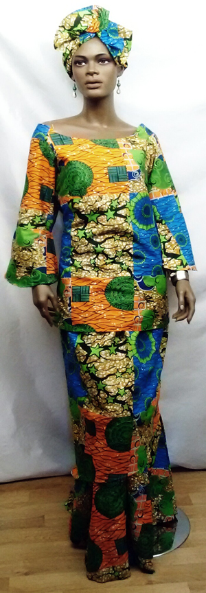 African-Yellow-Green-Layere