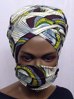 African-Yellow-Swirl-Print-