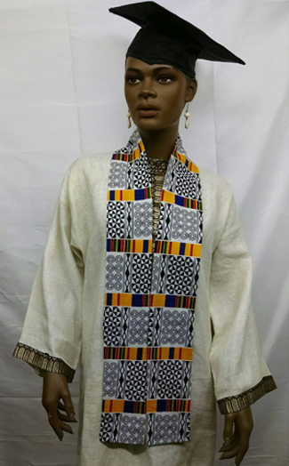 African-Yellow-black-white-