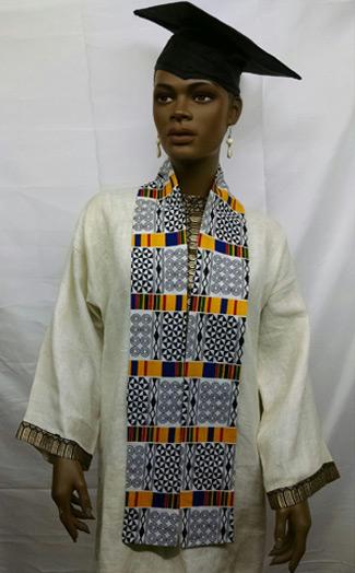 African-Yellow-black-white-