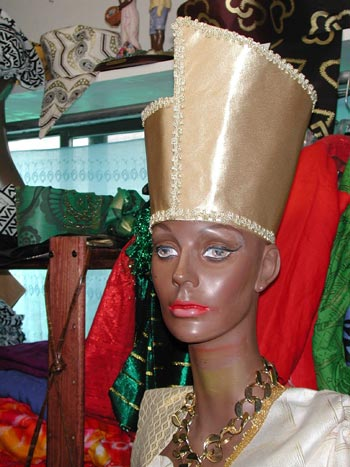 African Hat Egyptian Bridal Crown Or Hat