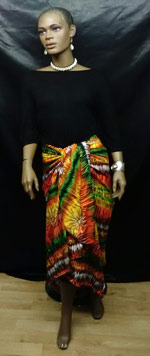 Colorfu-Orange-Sarong