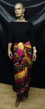 Colorful-Fuschia-Sarong