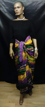 Colorful-Purple-Sarong