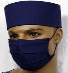 Custom-Navy-Blue-Face-Mask