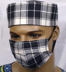 Custom-Plaid-Face-Mask