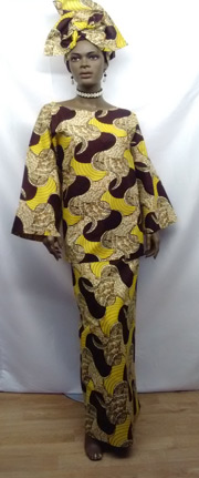 Elegant-African-Brown-Yello