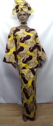 Elegant-African-Brown-Yello