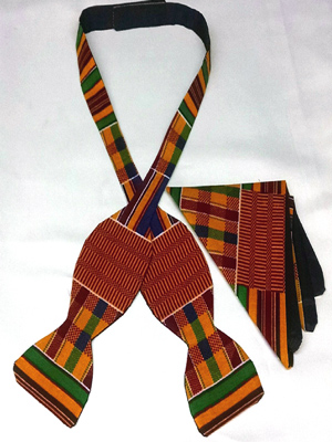 Kente Self tie Set
