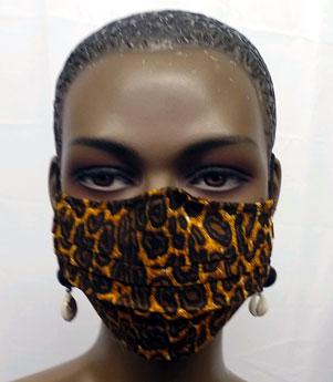 Leopard-Face-Mask