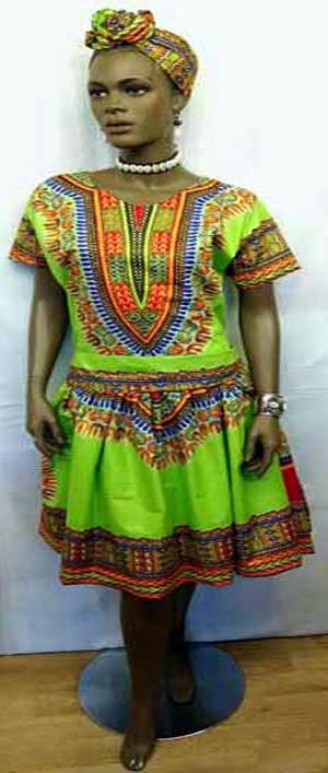 Lime-Green-Dashiki-Dress