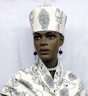 2f3a8abc756 African Hats- Open Crown or Hat for Women. `
