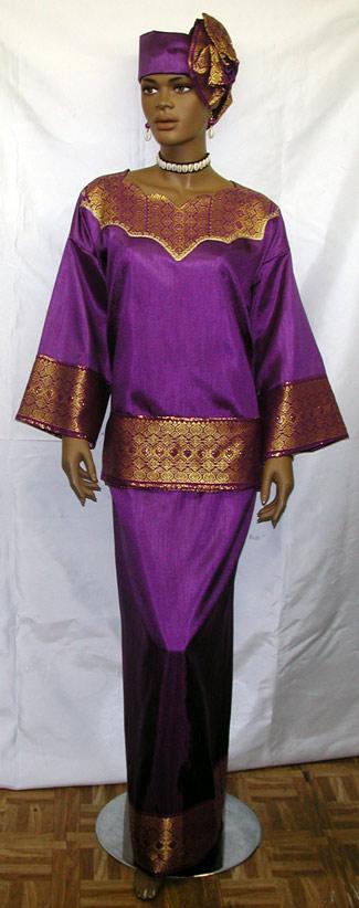 african dress elegant purple george dress