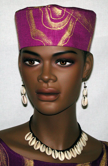 e695252bef8df African Hats- Elegant Kufi Hat for women. `