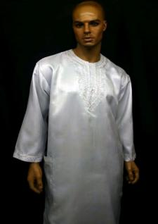 Africa-White-Silver-Dashiki