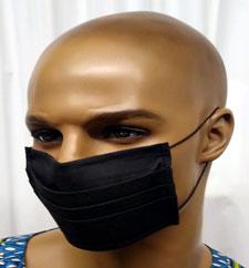 African-Black-Cotton-Face-M
