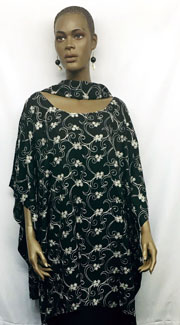 African-Black-Embroiedered-