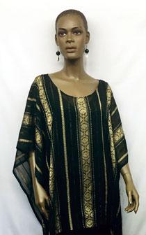 African-Black-Gold-Stripe-S