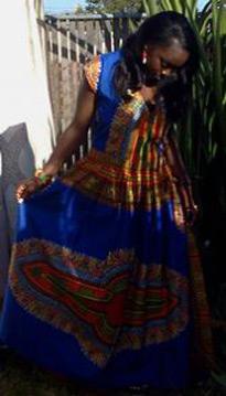 African-Blue-Dashiki-Dress