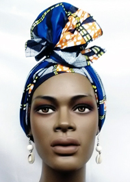 African-Blue-Print-Head-Wra
