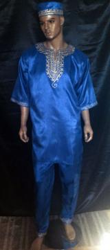African-Blue-Shokoto-Set