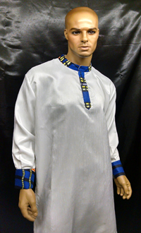 African-Blue-White-Nehru-Co