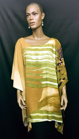 African-Brown-Green-Short-K