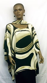 African-Cream-Gold-Abstract