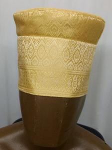 African-Gold-Kufi-Hat